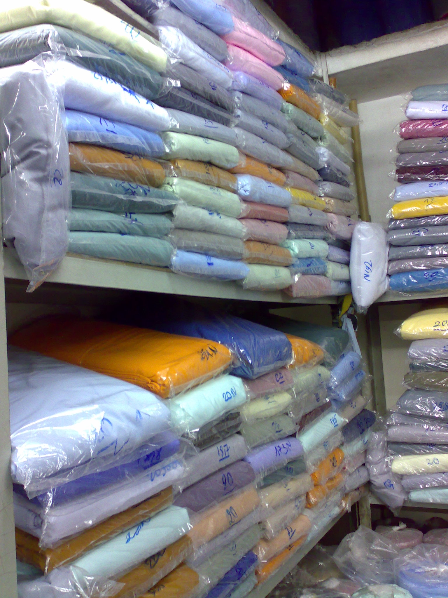 Vải Kate Silk giá rẻ HCM